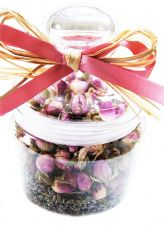 Lavender and Rose Jar